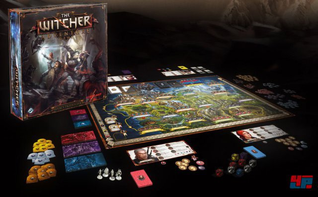 Zwei bis vier Helden rätseln, handeln, sammeln und kämpfen mit Karten und Würfeln gegen diverse Monster aus der Fantasywelt - darunter auch Kreaturen, die erstmals in The Witcher 3 auftauchen.