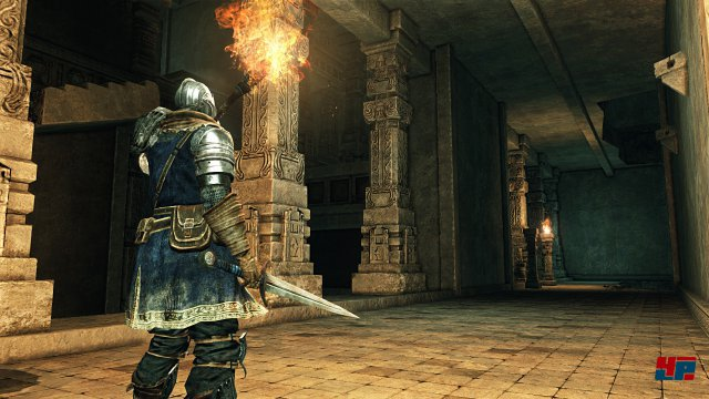 Fackeln im Dunkel: In Dark Souls 2 brennen sie nicht ewig...