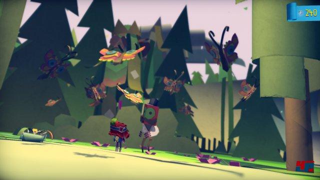 Die Papierkulissen und Figuren sehen auch auf der PS4 wunderschön aus.