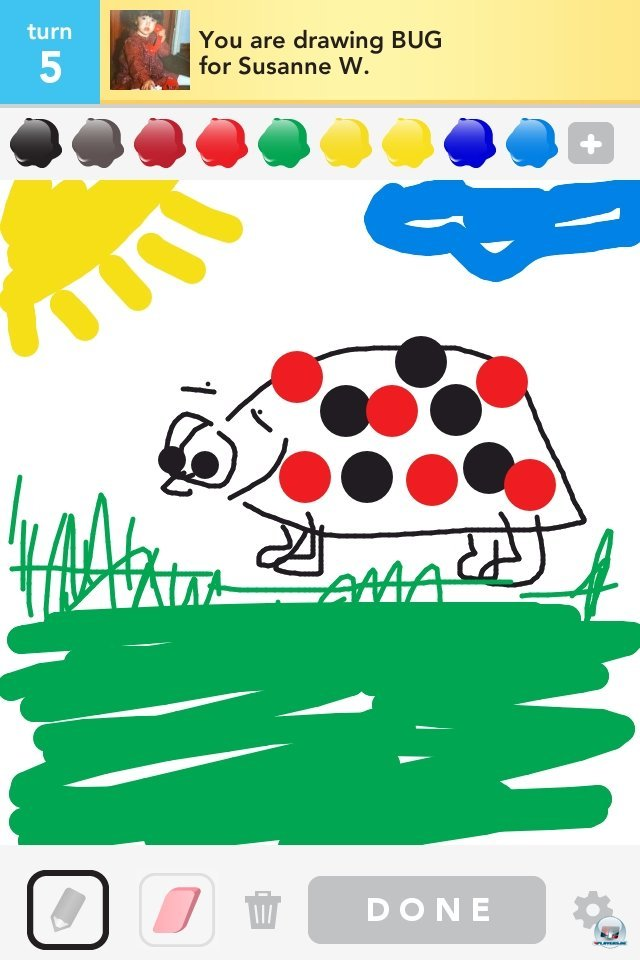 Screenshot - Draw Something (iPhone)