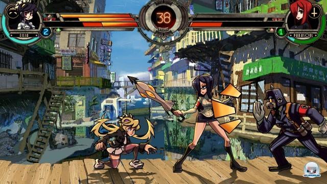 Jede Kämpferin verfügt über mehrere freischaltbare Kostüme.