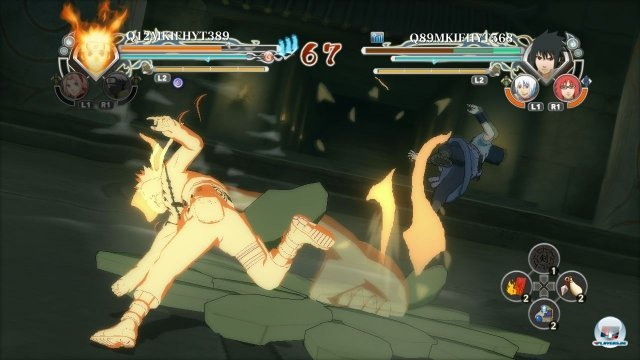 Screenshot - Naruto Shippuden: Ultimate Ninja Storm Generations (PlayStation3)