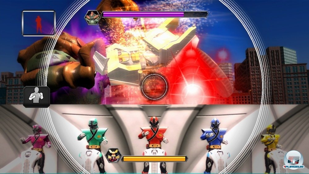 power rangers super samurai spiele