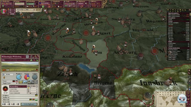 Screenshot - Victoria II: Heart of Darkness (PC)