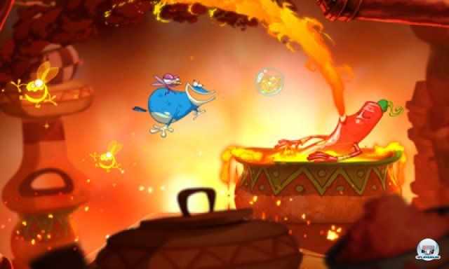 Screenshot - Rayman Origins (3DS) 2367027