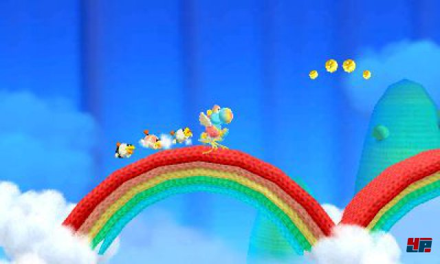 Screenshot - Poochy und Yoshi's Woolly World (3DS)