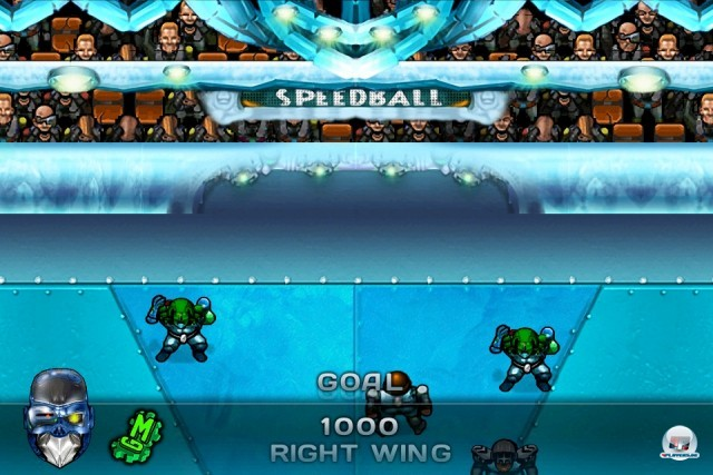 Screenshot - Speedball 2: Evolution (iPhone)