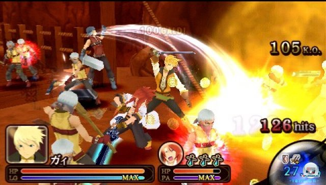 Screenshot - Tales of the Heroes: Twin Brave (PSP) 2287377