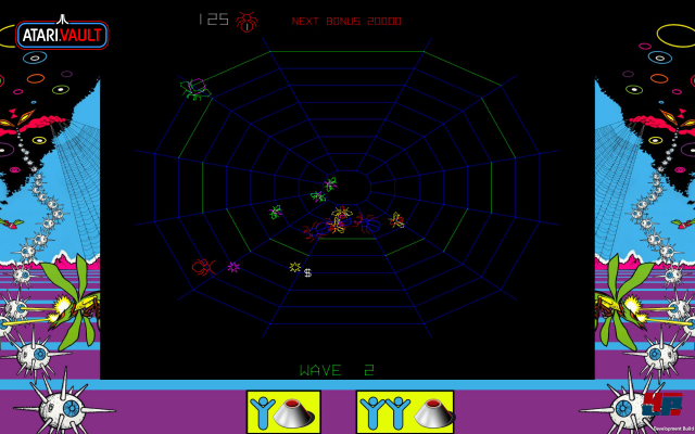 Screenshot - Atari Vault (Linux)