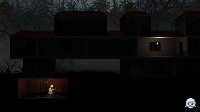 Reparierte Lampen bringen Licht ins Dunkle der Nacht für Nacht anders angeordneten Räume.