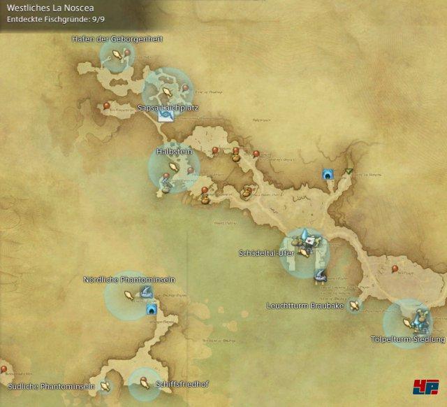 Final Fantasy XIV Online: A Realm Reborn - Fischgründe: La Noscea, Westliches La Noscea