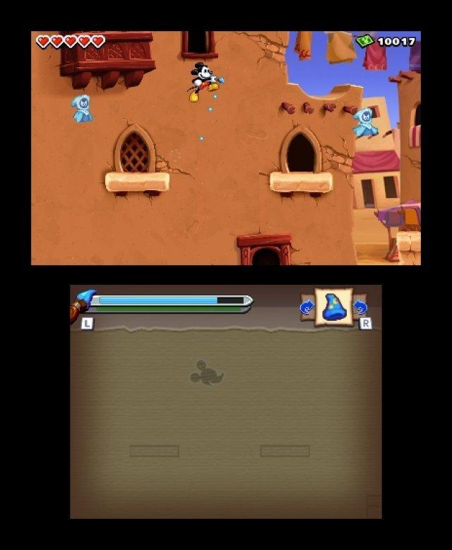 Screenshot - Micky Epic - Die Macht der Fantasie (3DS) 92406572