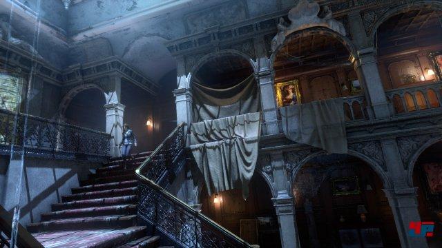Im neuen DLC Blutsbande darf man das Croft-Anwesen erkunden - sogar in VR.