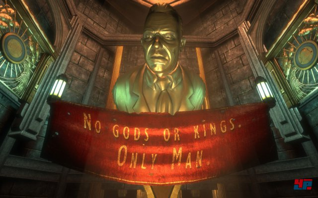 Screenshot aus der überarbeiteten PC-Version aus BioShock: The Collection; Quelle: NeoGAF