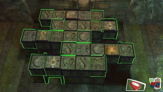 ...zum Beispiel alte Grabstätten und simpel gestrickte Schieberätsel.