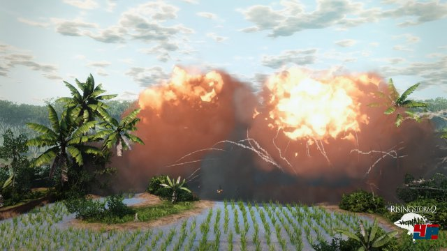 Der Geruch von Napalm am Morgen: Die Luftangriffe der US-Streitkräfte sind verheerend!