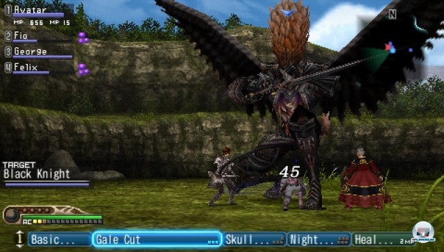 Screenshot - White Knight Chronicles: Origins (PSP) 2227029