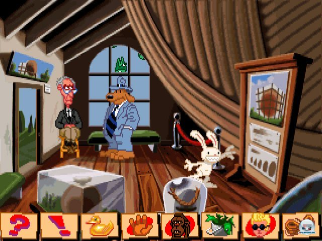 Screenshot - Sam & Max Hit the Road (PC) 92431737