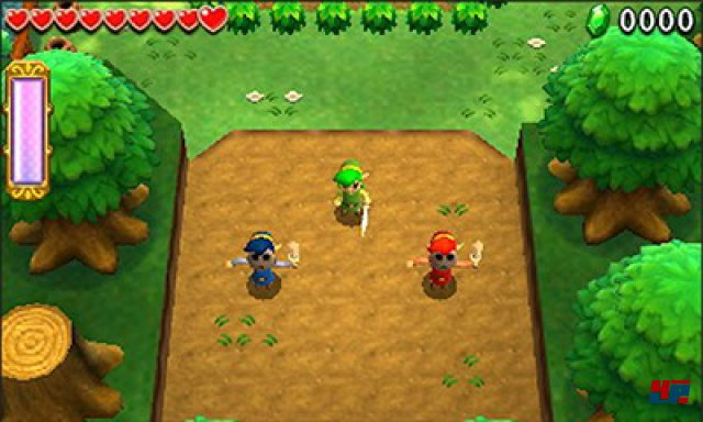 Screenshot - The Legend of Zelda: TriForce Heroes (3DS)