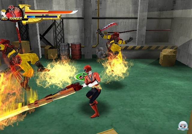 Screenshot - Power Rangers Samurai (Wii)