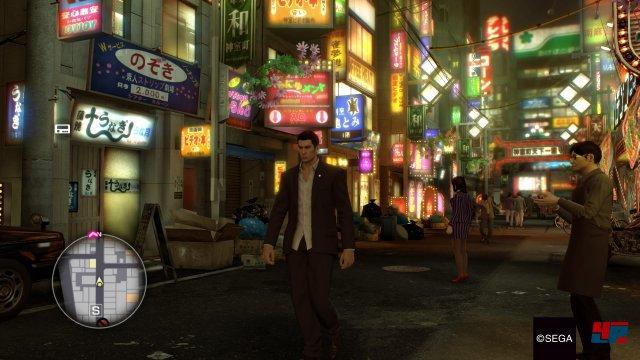 Das schillernde Vergnügungsviertel Kamurocho ist erneut der eigentliche Star des Milieu-Krimis.