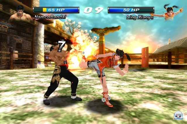 Screenshot - Tekken Card Tournament (iPhone)