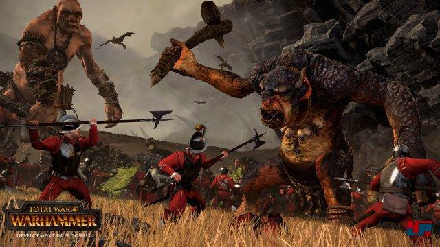 Endlich Fantasy! Die Völker in Total War: Warhammer unterscheiden sich deutlich voneinander.