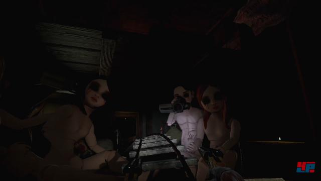 Rush of Blood zeichnet sich durch verstörende Kulissen und ein gelungenes Spiel von Licht und Schatten aus.