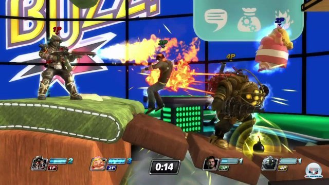 Screenshot - PlayStation All-Stars: Battle Royale (PS_Vita) 2365062