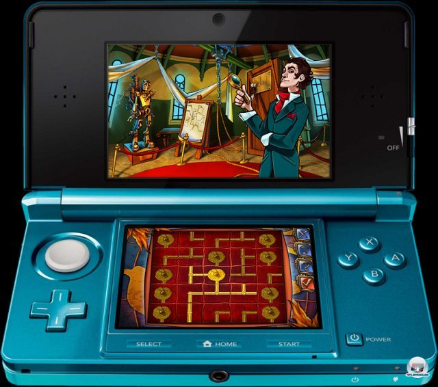 Screenshot - Sherlock Holmes and the Mystery of the Frozen City (3DS) 2373377