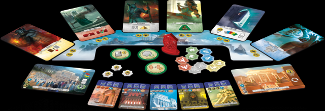 7 Wonders Duel Pantheon.