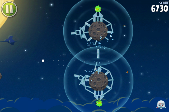 Screenshot - Angry Birds Space (iPhone) 2333637
