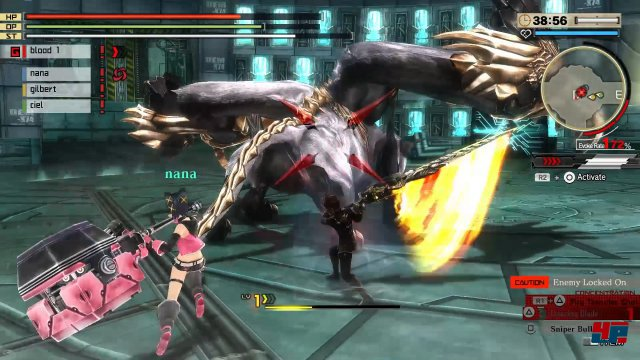 Screenshot - God Eater 2 Rage Burst (PC)