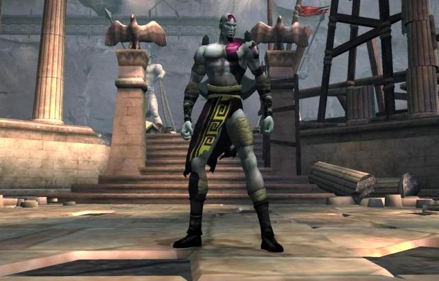 <b>God of War (2005)</b><br><br>Ganz ähnliches gilt auch für Oberspaßvogel Kratos: Zuerst sehr menschlich, dann ausgesprochen göttlich. Dann wieder menschlich, die ganze Zeit dazwischen von unendlich wirkendem Rache- und Blutdurst getrieben. Die Spiele der Reihe haben überdies den Vorteil, dass nicht nur der Held selber in den Olymp einzieht, sondern gerade im dritten Teil gründlich unter den göttlichen Mitbewohnern aufgeräumt wird. 2125448