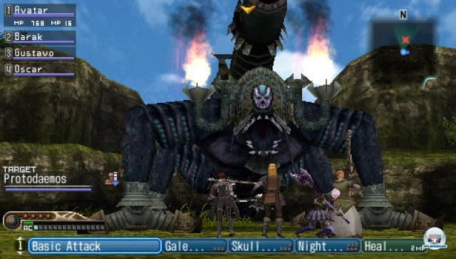 Screenshot - White Knight Chronicles: Origins (PSP) 2227014