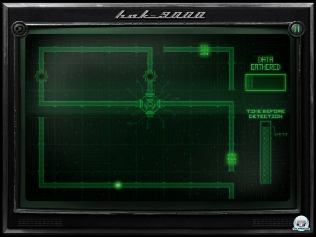 Man schlüpft in die Rolle eines Hackers, der kleine Minispiele meistern muss.