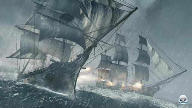 Die Seefahrt spielt diesmal keine nebensächliche Rolle - immerhin dreht sich das gesamte Abenteuer um die Piraterie.