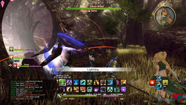 Screenshot - Sword Art Online: Hollow Realization (PS4)