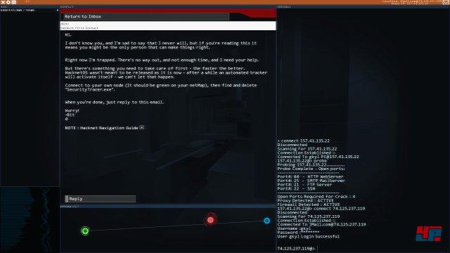 Screenshot - Hacknet (PC)