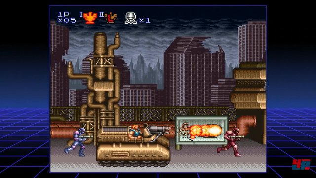 Screenshot - Contra 3: The Alien Wars (SuperNES)