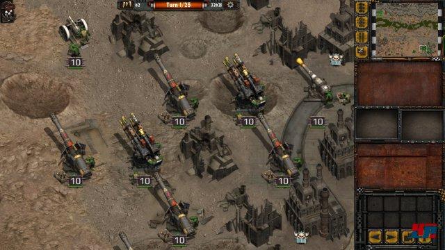 Screenshot - Warhammer 40.000: Armageddon - Da Orks (iPad) 92531383