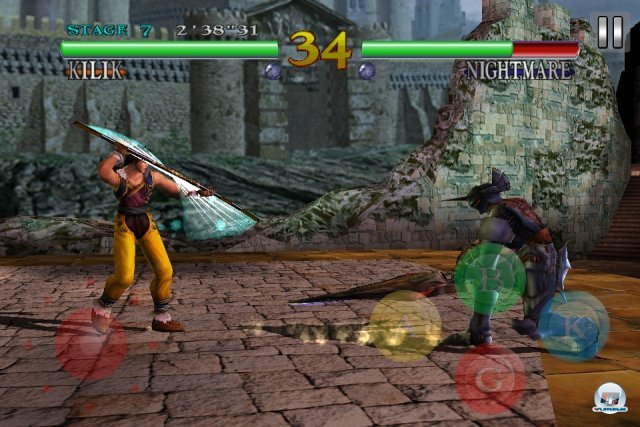 Screenshot - Soul Calibur (iPhone)