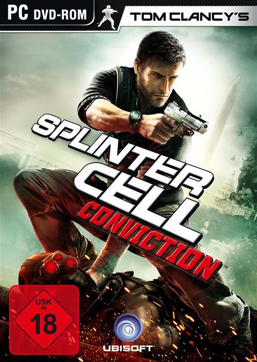 Splinter Cell: Conviction Deutsche  Texte, Untertitel, Menüs, Videos Cover