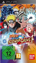Alle Infos zu Naruto Shippuden: Kizuna Drive (PSP)