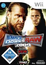 Alle Infos zu WWE SmackDown vs. Raw 2009 (Wii)