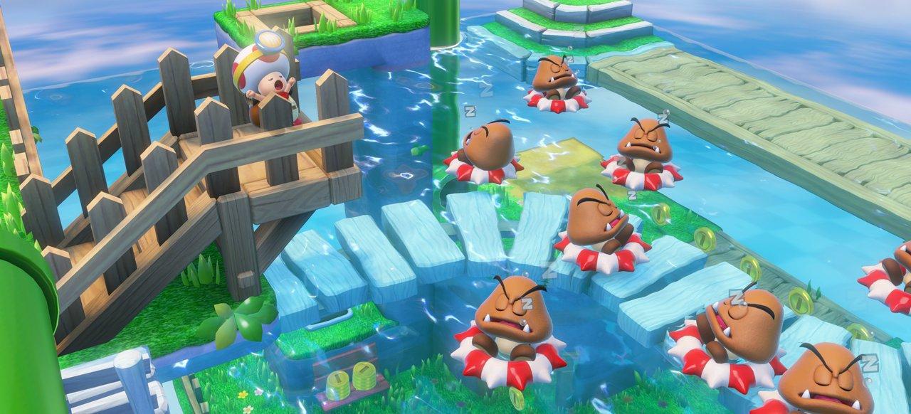 Captain Toad: Treasure Tracker (Geschicklichkeit) von Nintendo