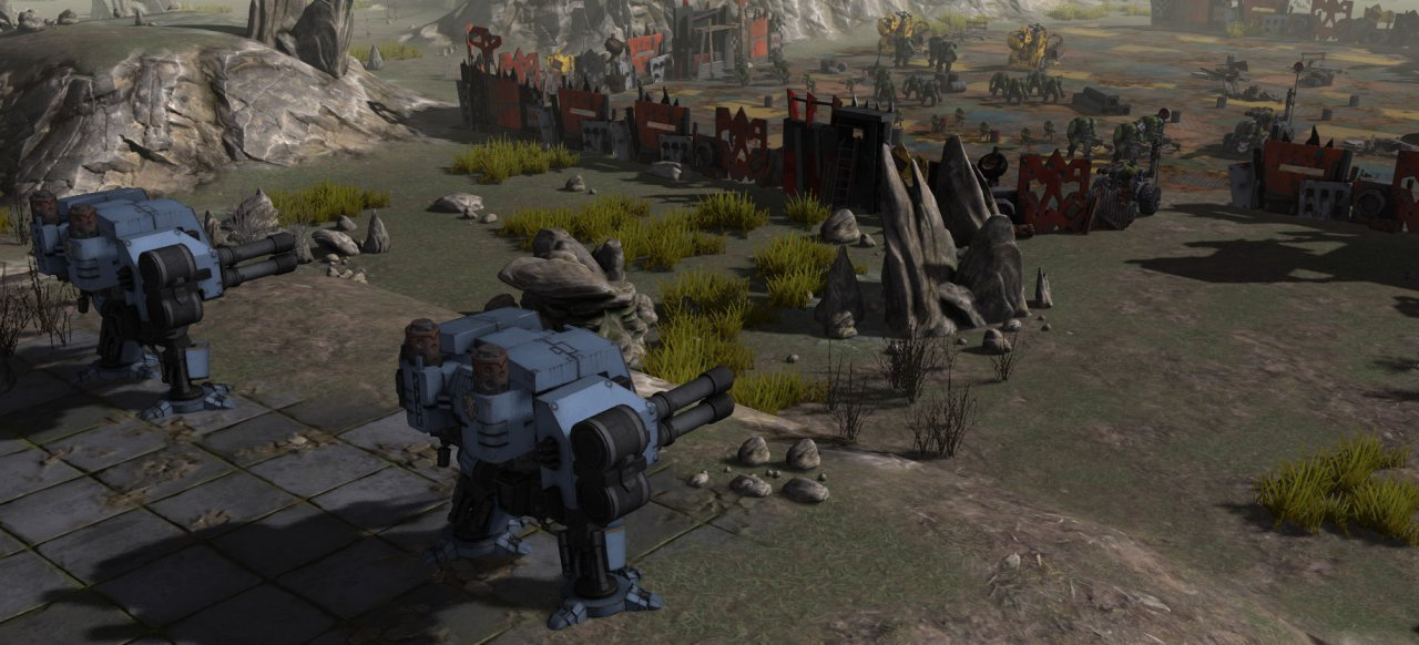 Warhammer 40.000: Sanctus Reach (Strategie) von Slitherine