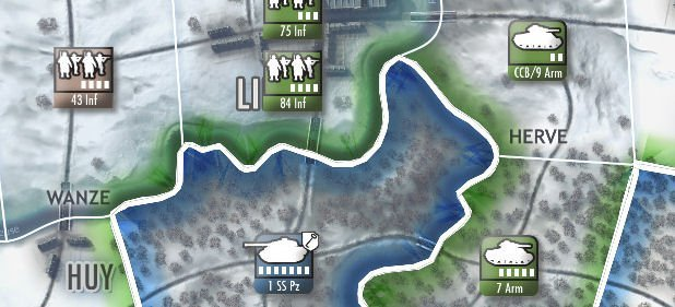 Battle of the Bulge (Strategie) von Slitherine