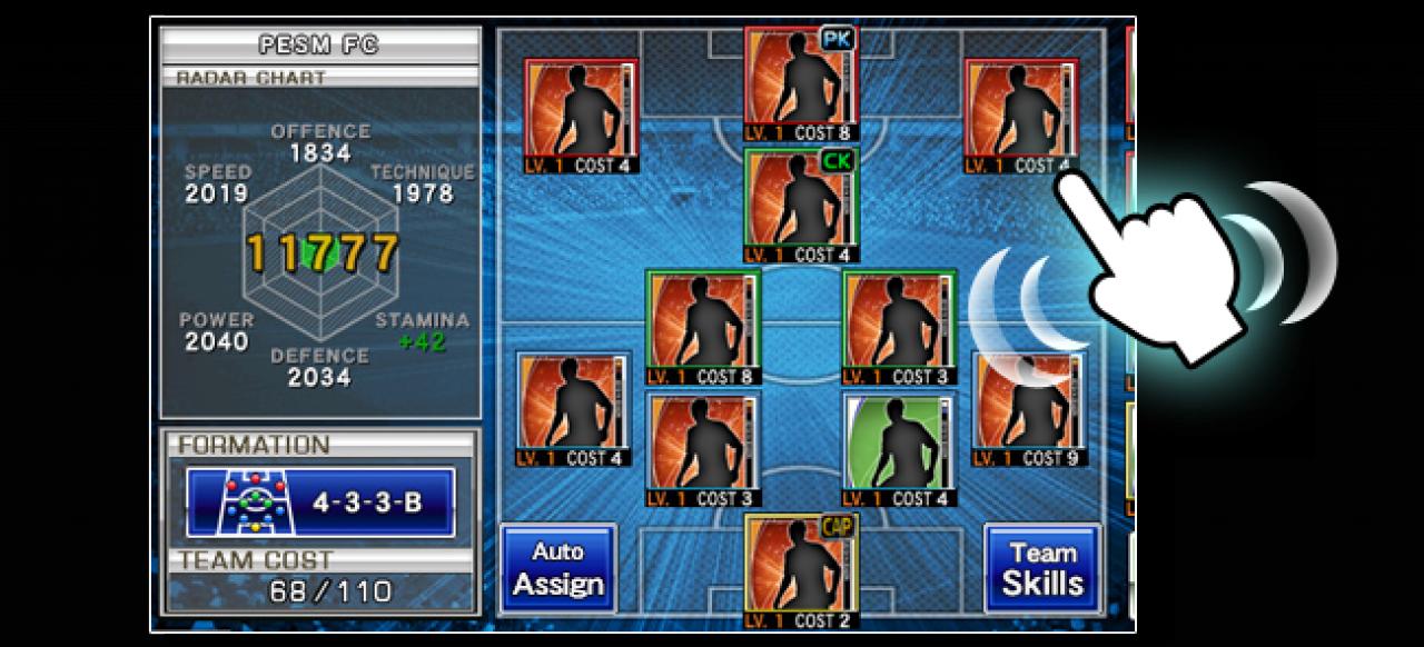 PES Manager (Sport) von Konami