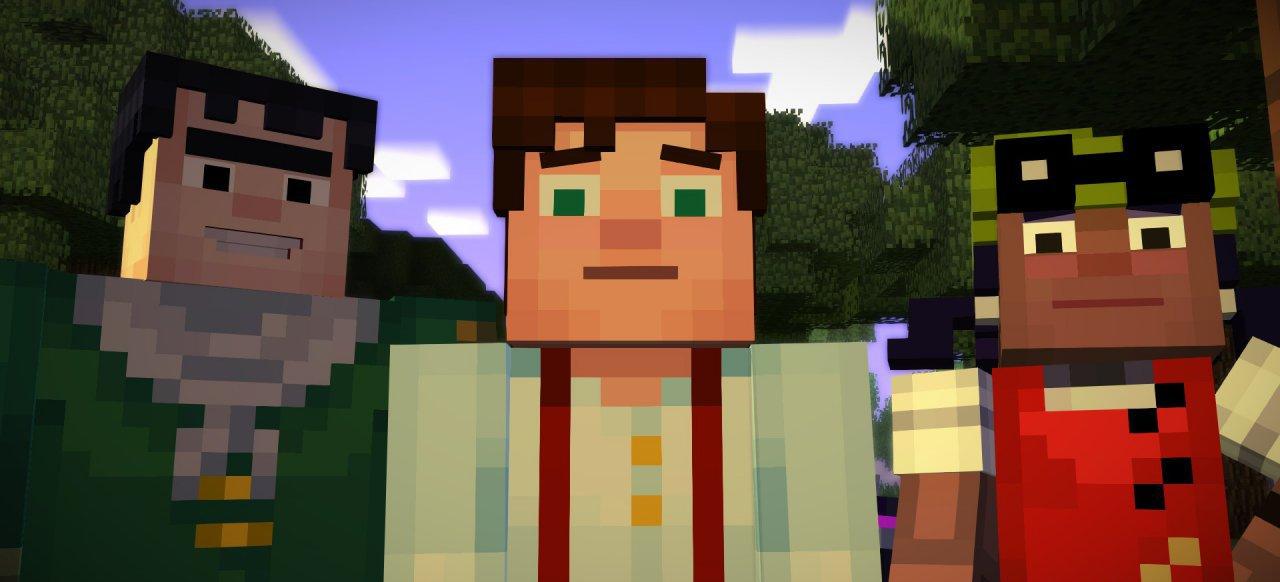Minecraft Story Mode Episode Der Orden Des Steins PC Test - Minecraft spieletipps pc
